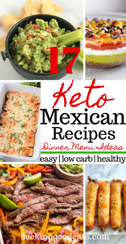 Keto Mexican Recipes (Dinner and Party Menu Ideas)
