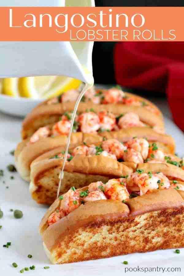 Langostino Recipe for Warm Lobster Rolls