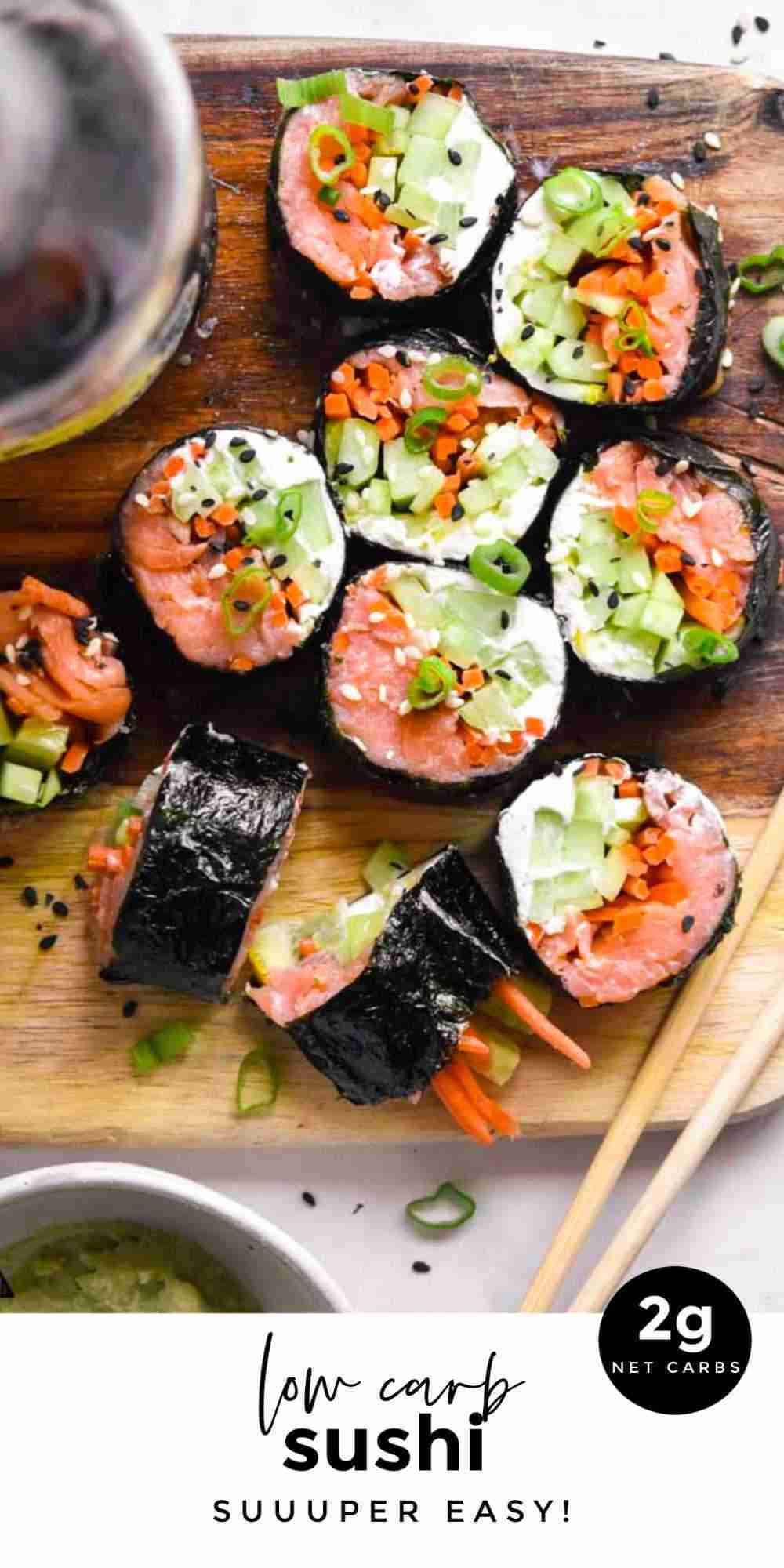 Low Carb Sushi (Keto + Easy!)