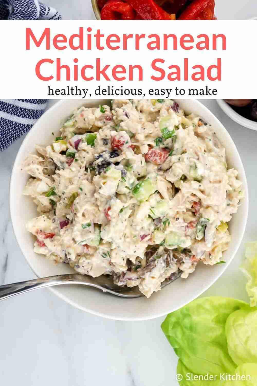 Mediterranean Chicken Salad – Slender Kitchen