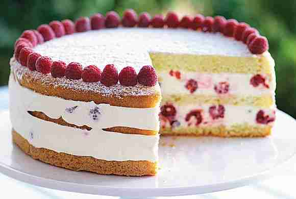Raspberry Lemon Cream Cake | Canadian Living