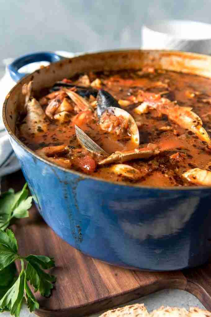 San Francisco Cioppino Seafood Stew – House of Nash Eats