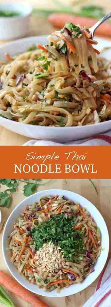 Simple Thai Noodle Bowl (SO EASY!) – Joyous Apron