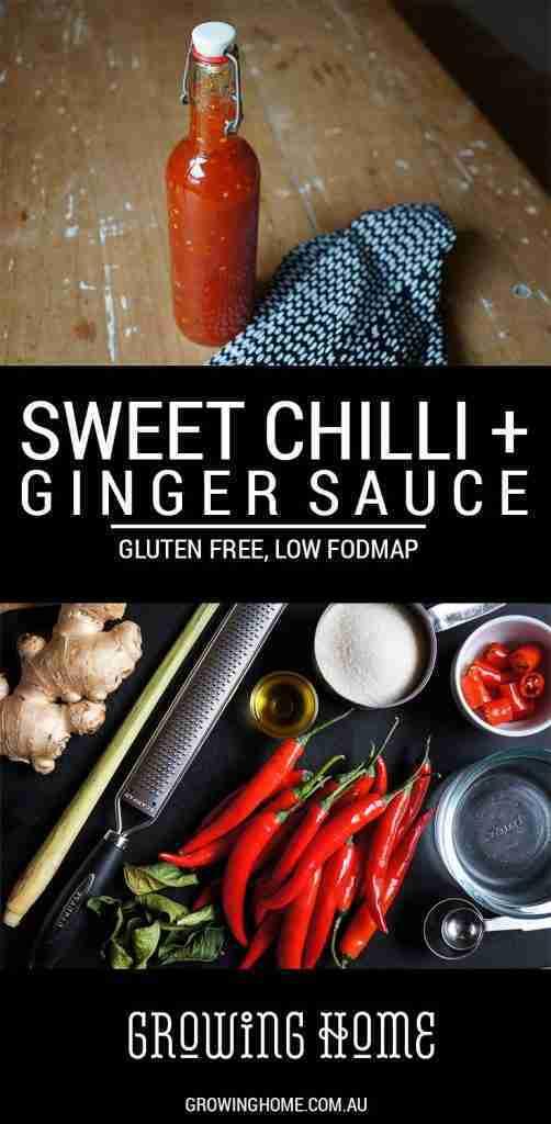 Sweet Chilli + Ginger Sauce | Gluten Free, Low FODMAP