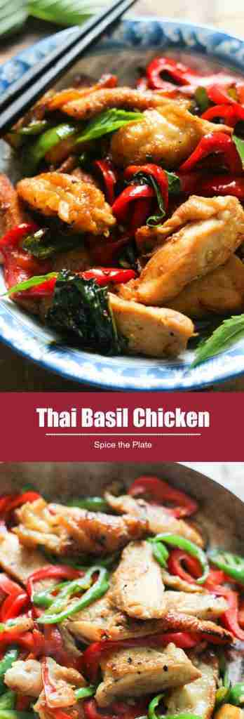 Thai Basil Chicken – Spice the Plate