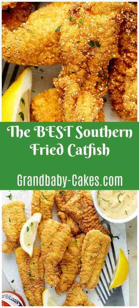 The BEST Fried Catfish