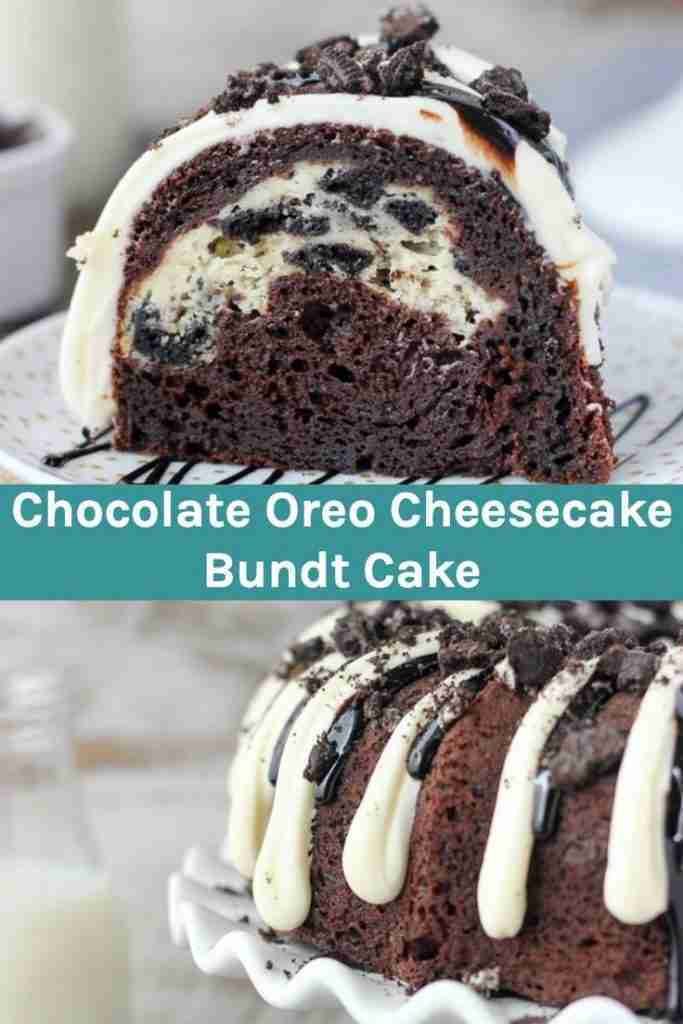 This Easy Chocolate Bundt Cake Recipe Is Perfect For Oreo Lovers!