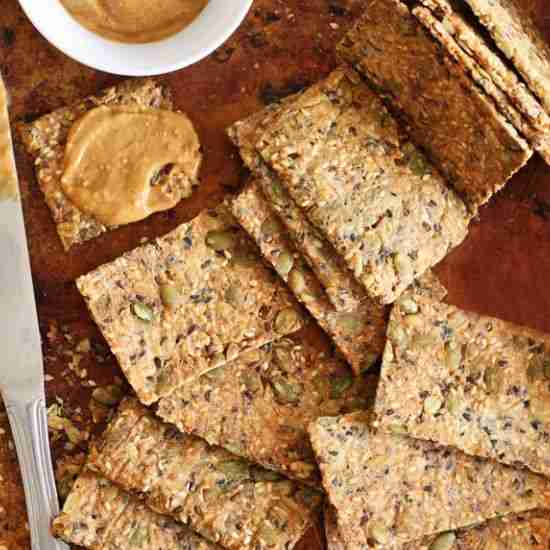 Ultimate 5-Seed Crackers