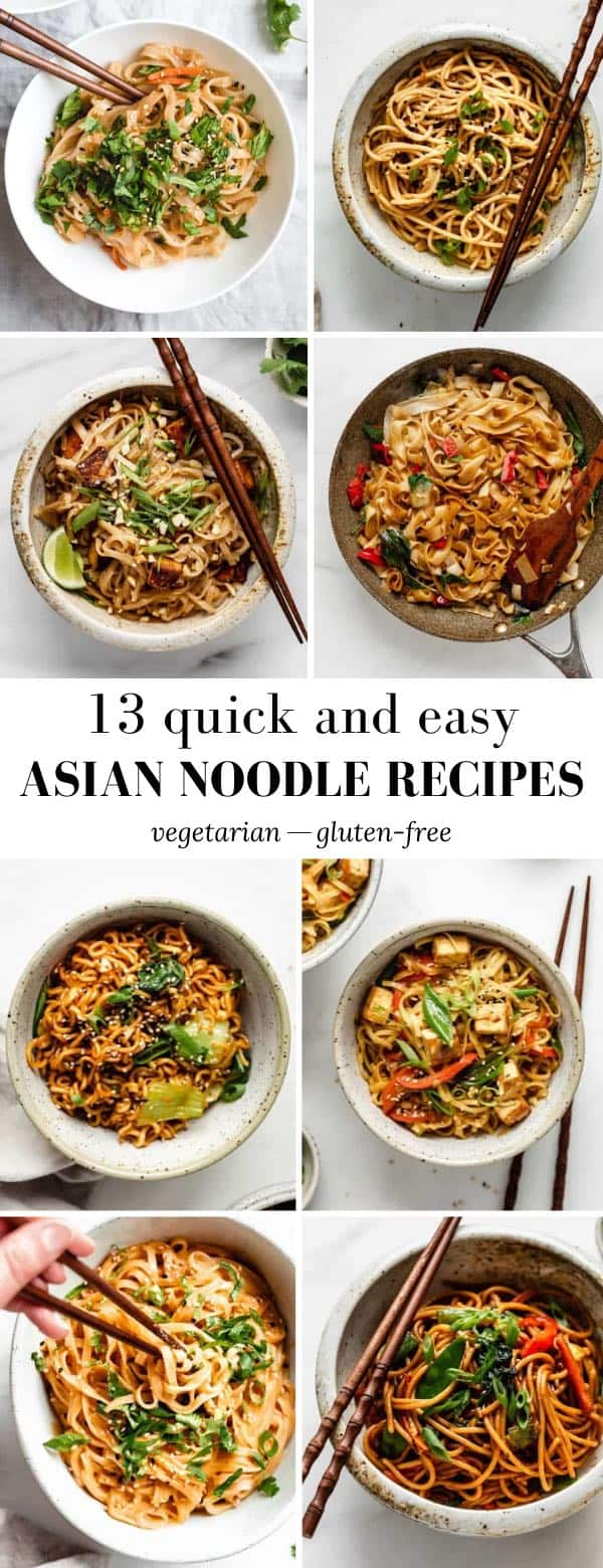 13 Quick & Easy Asian Noodle Recipes