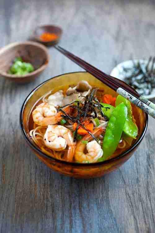 15-Minute Soba Noodle Soup – Rasa Malaysia
