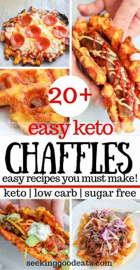 20+ Best Chaffles To Make (Keto Waffle Recipes) | Seeking Good Eats