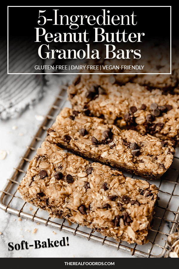 5-Ingredient Peanut Butter Granola Bars – The Real Food Dietitians