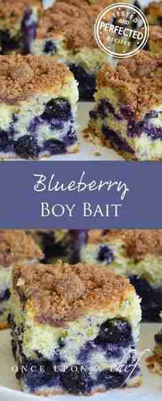 Blueberry Coffee Cake (aka Boy Bait) – Once Upon a Chef