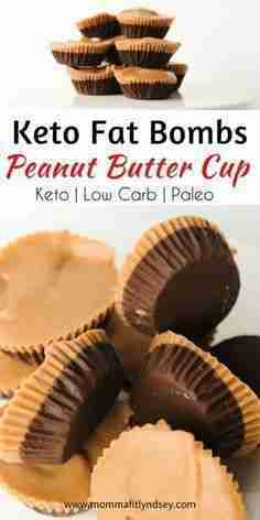Chocolate Peanut Butter Cup Fat Bomb