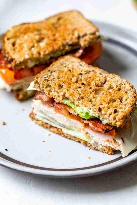 Classic Turkey Club Sandwich (made lighter!) – Skinnytaste