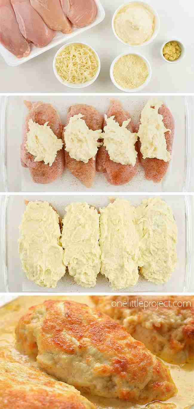 Creamy Garlic Parmesan Chicken