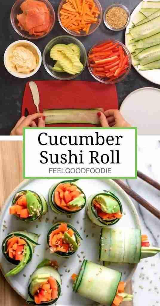 Cucumber Sushi Roll