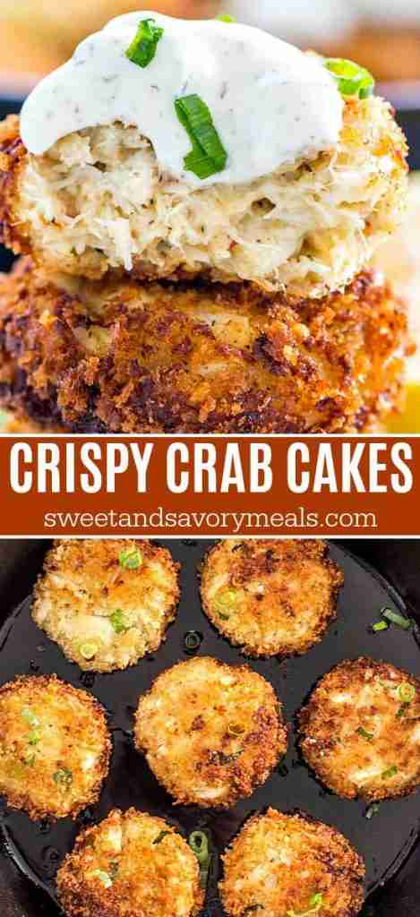 Easy Crab Cakes [VIDEO] – Sweet and Savory Meals