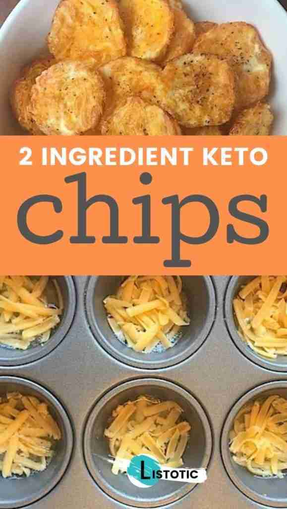 Easy, Low Carb, SUPER tasty chips! Just 2 ingredients. – Listotic