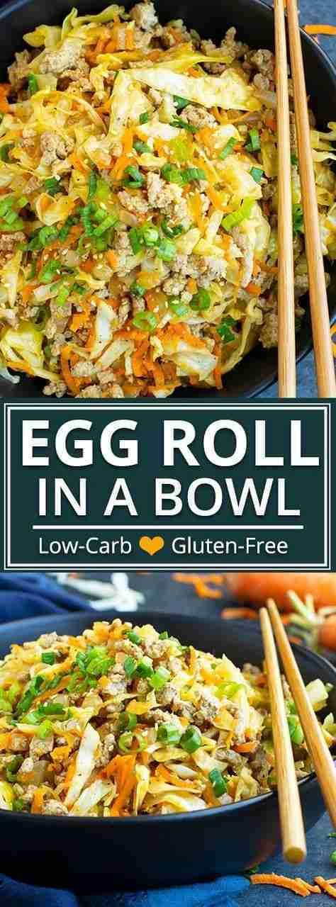 Egg Roll in a Bowl Recipe – 30-Minute Keto Dinner – Evolving Table