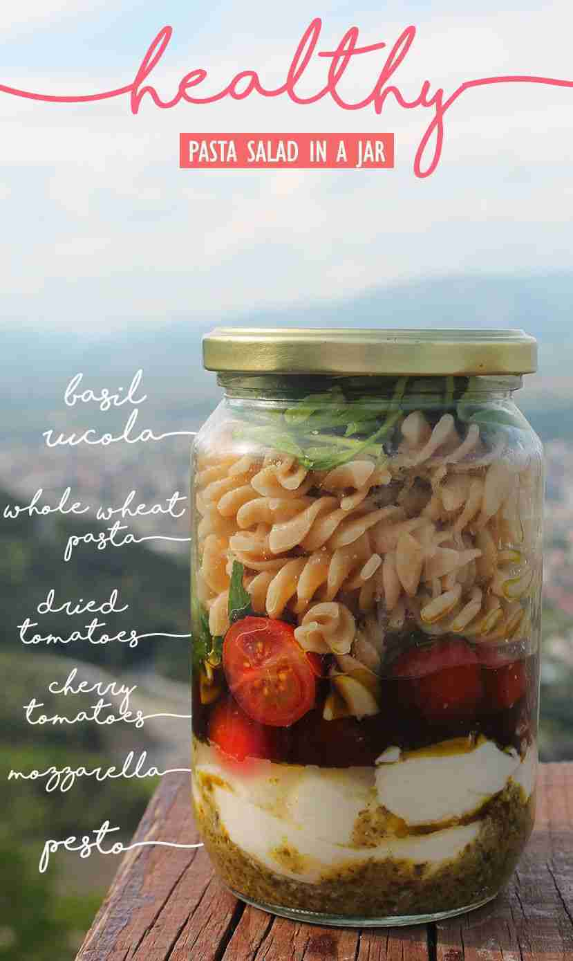 Healthy Meals In a Jar – RecipesTo-Go For A Last Minute Takeaway