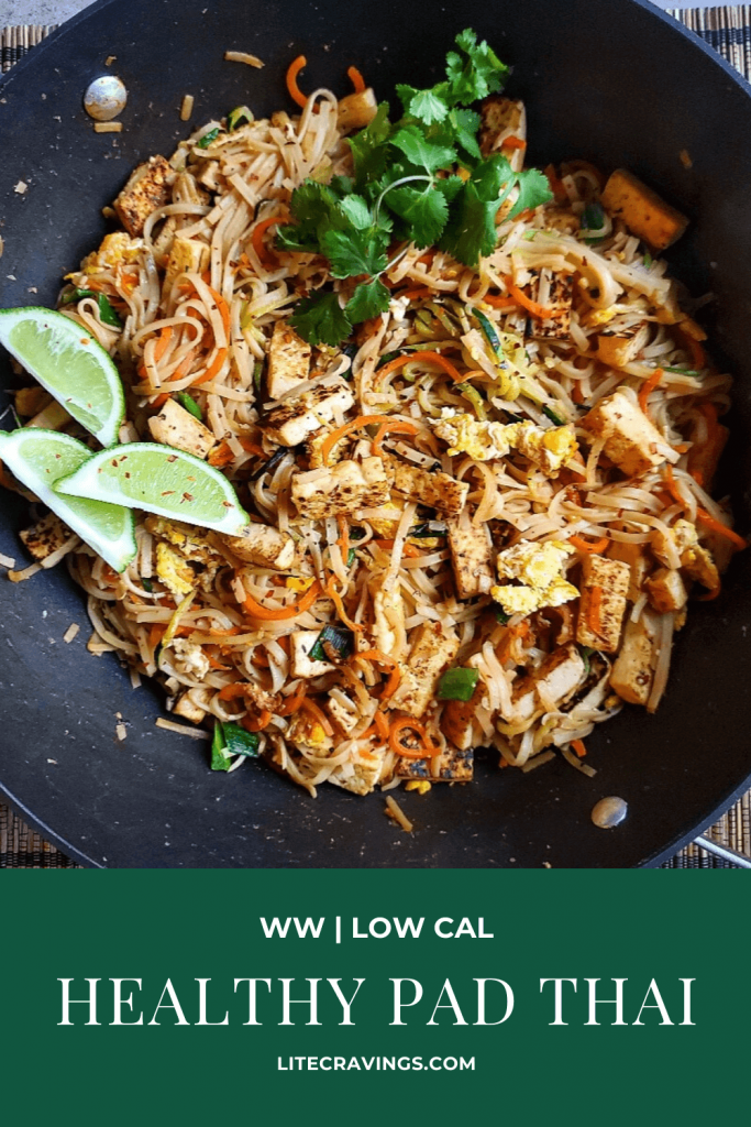 Healthy Pad Thai | Lite Cravings | WW Recipes