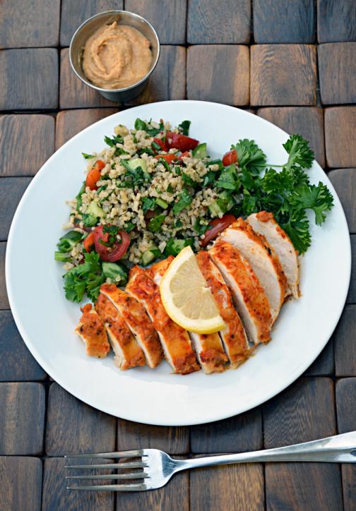 Hummus Crusted Chicken – Host The Toast