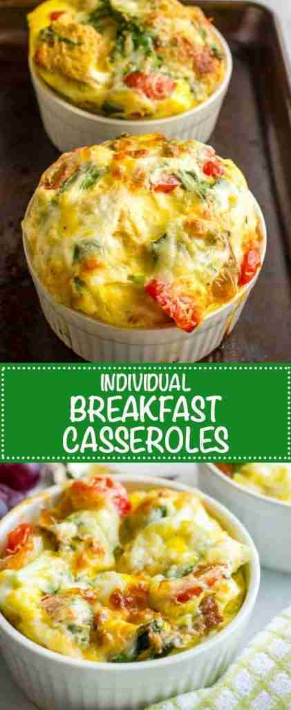 Individual breakfast casseroles – Family Food on the Table