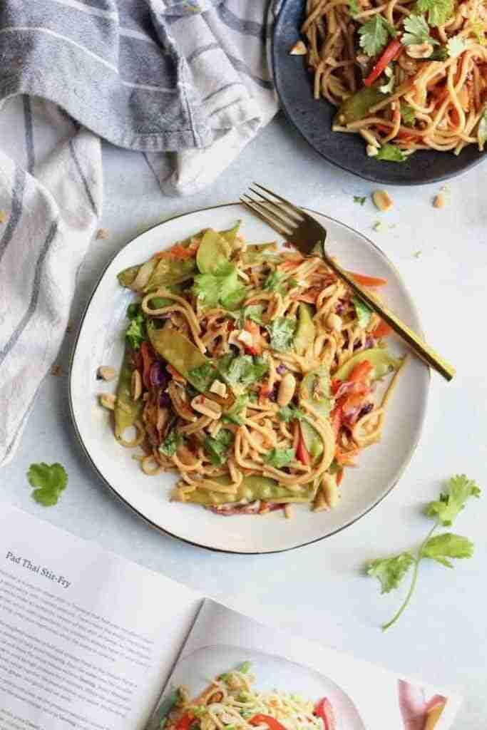 Instant Pot Pad Thai Stir Fry (Easy + Healthy!) – Hummusapien