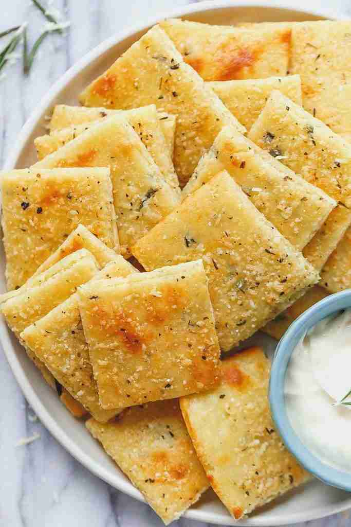 Low Carb Cheese Crackers Recipe – Keto Cheese Crackers Recipe