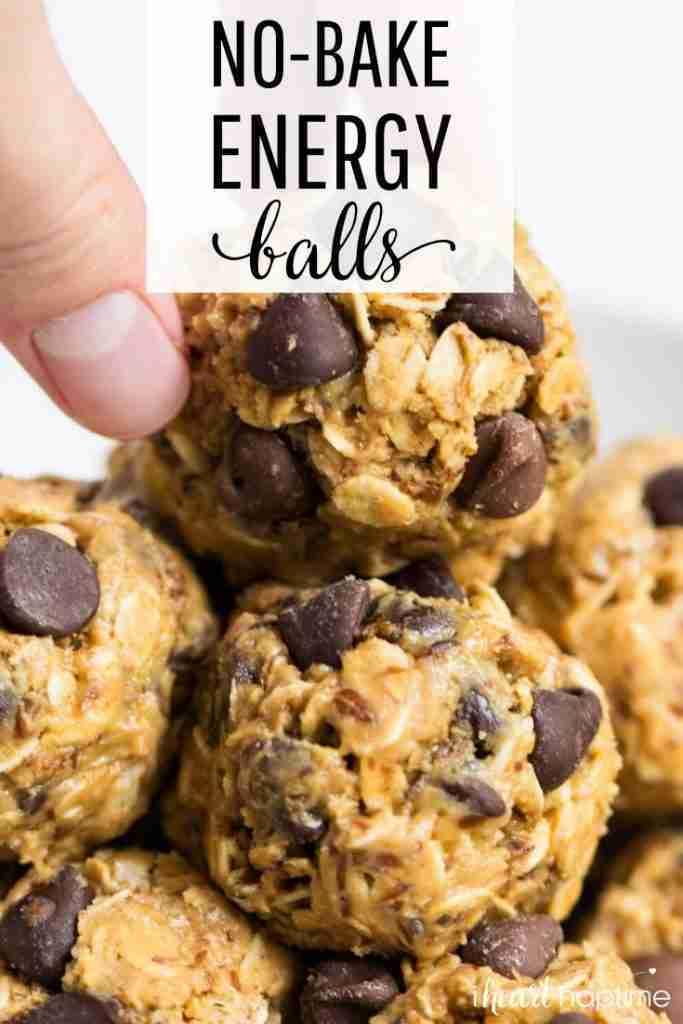 No-Bake Energy Balls (5 ingredients!)