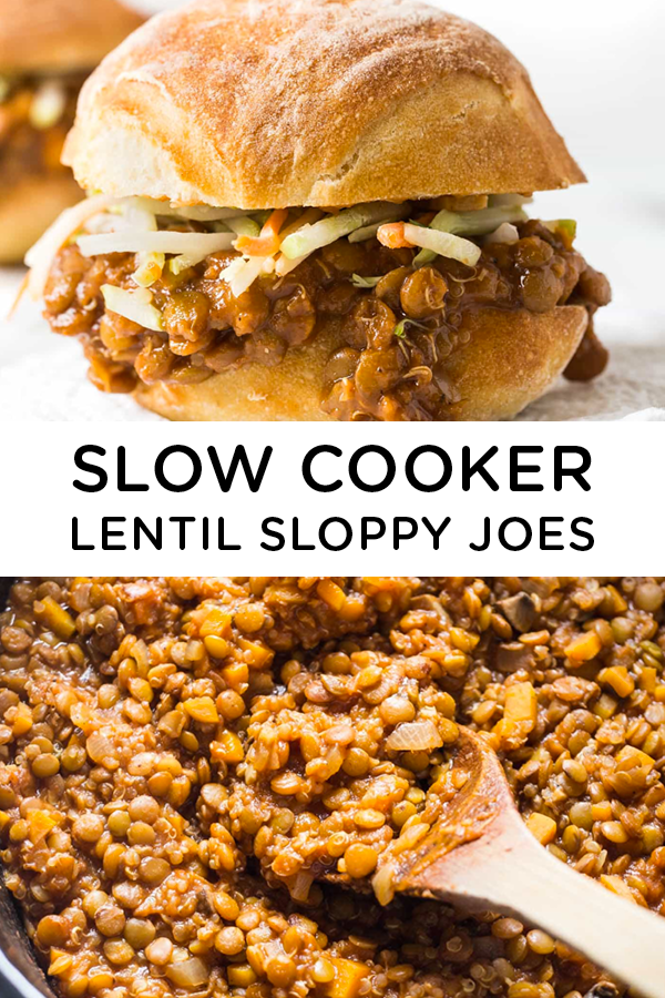 Slow Cooker Lentil Sloppy Joes – Simply Quinoa