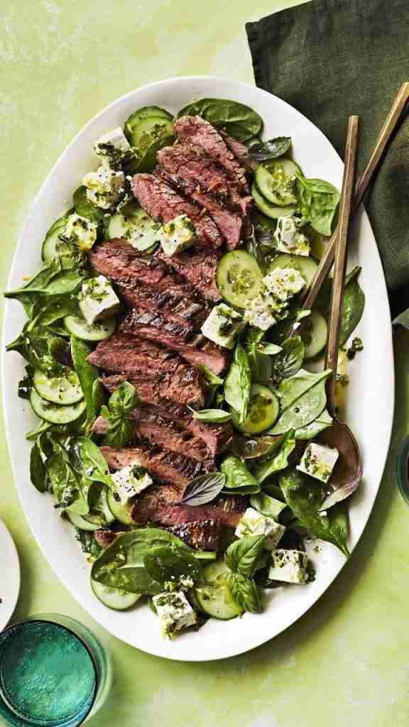 Steak and Feta Salad Recipe