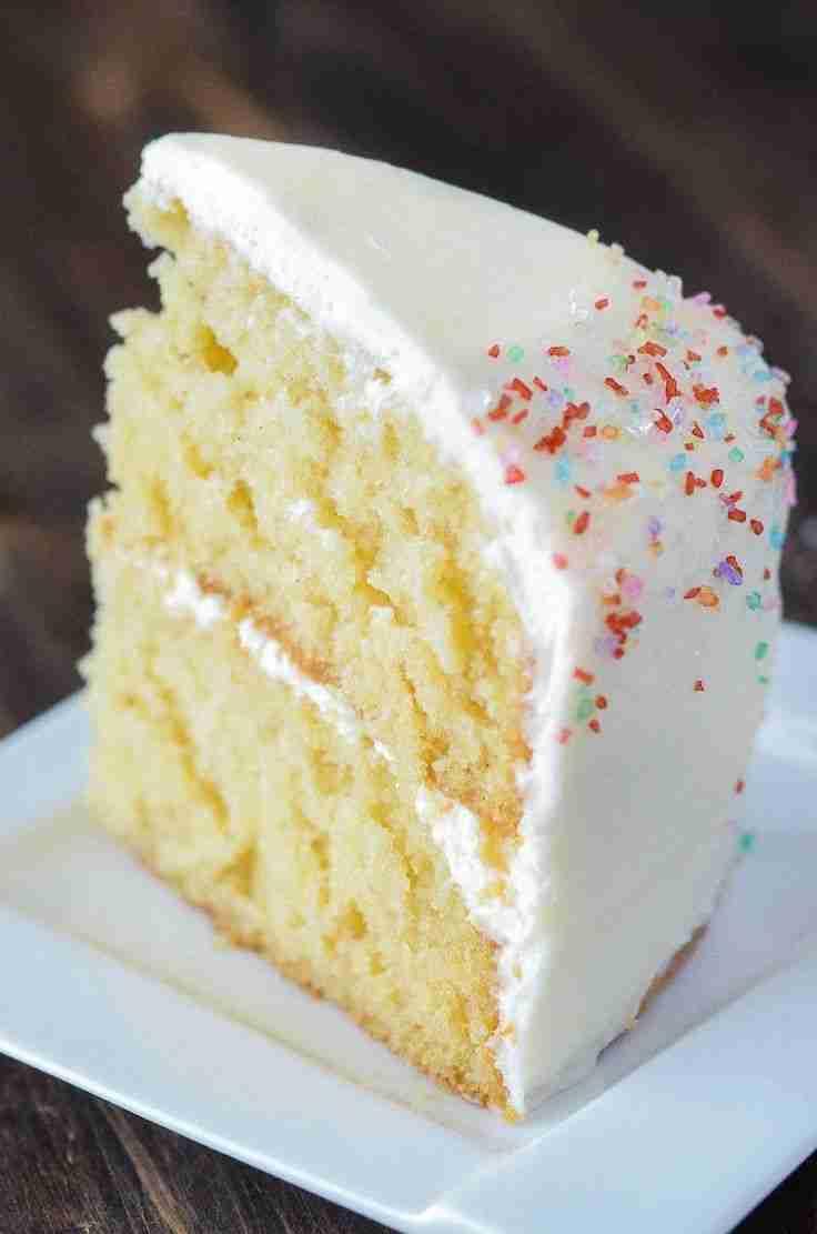 The Novice Chef Vanilla Dream Cake