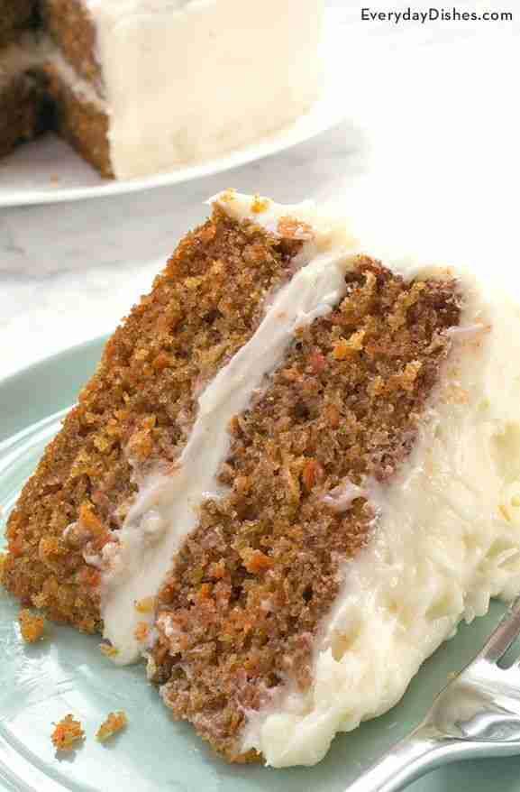 Viral Moist Carrot Cake Recipe – Everyday Dishes – Baking