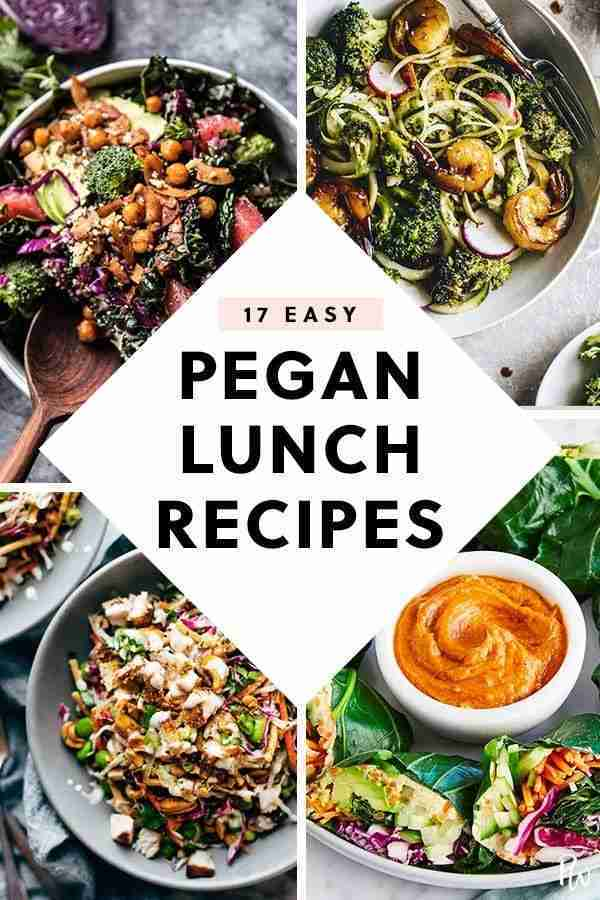 17 Easy Lunch Recipes That Are on the Pegan Diet