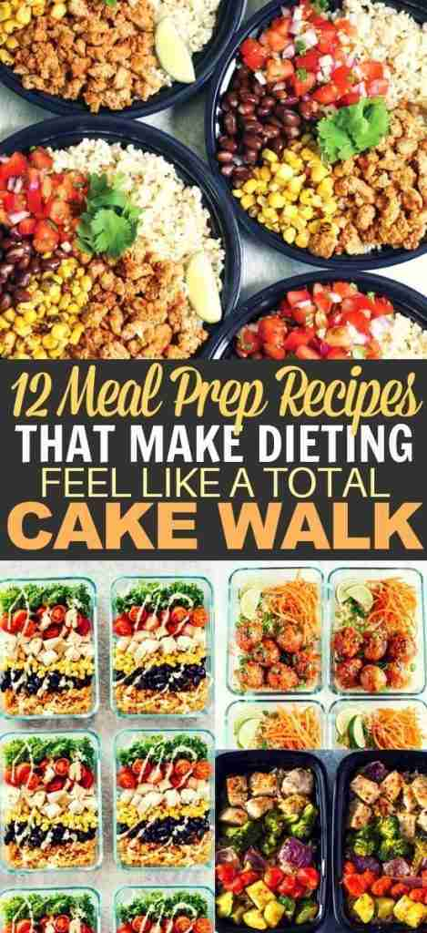 18 Beginner Meal Prep Lunch Ideas for Weight Loss