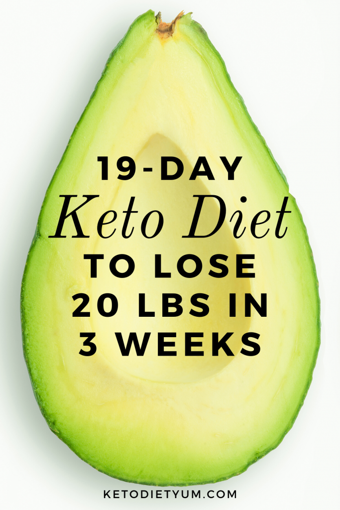 19-Day Keto Diet Plan for Beginners to Get Into Ketosis