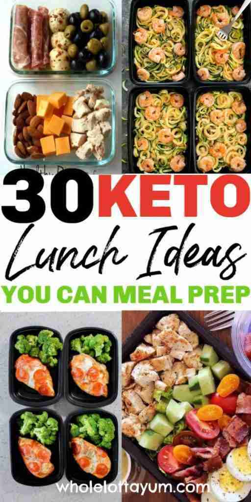30 Low Carb Lunch Ideas You Can Meal Prep