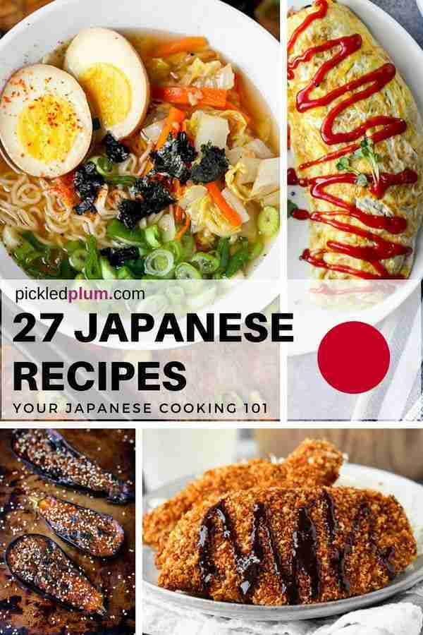 43 Easy Japanese Recipes You Can Make At Home | Pickled Plum Food And Drinks