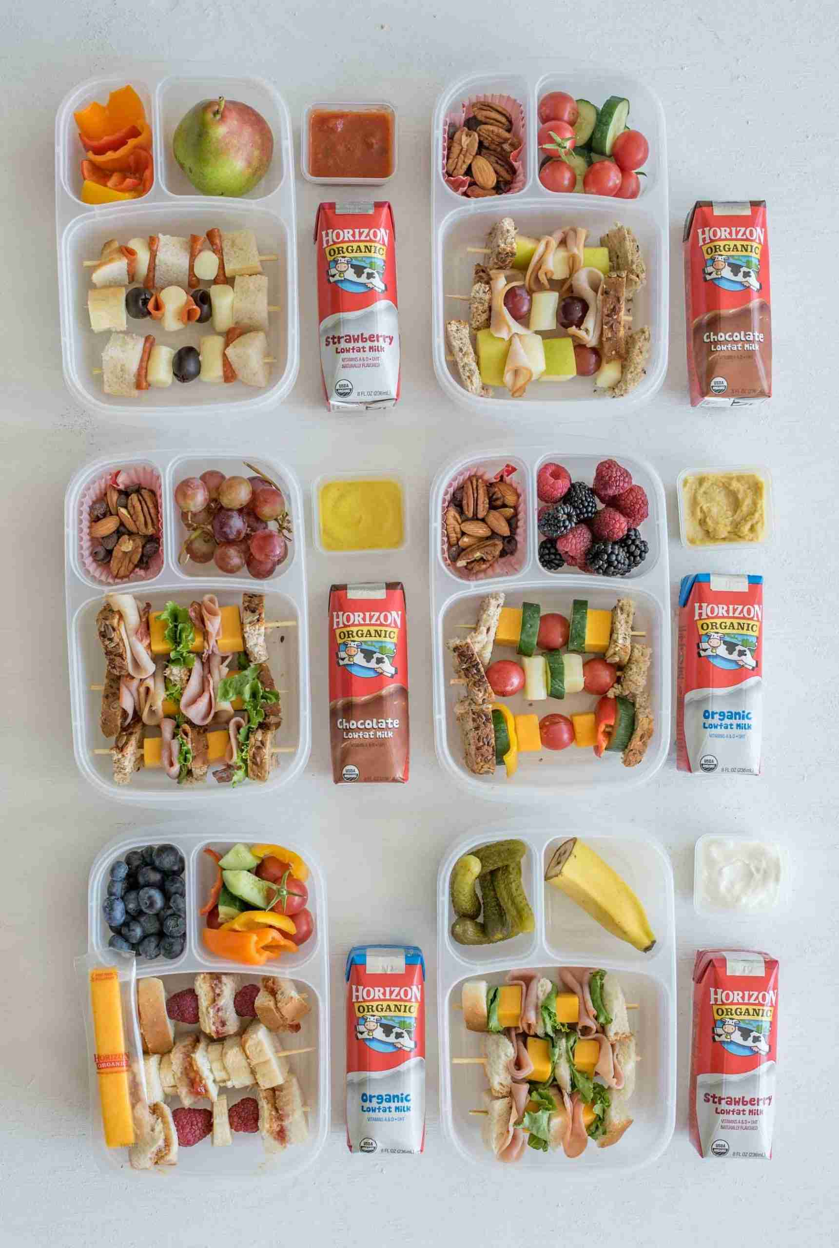 6 Sandwich-on-a-Stick Lunch Box Ideas | Easy & Healthy Packed Lunches