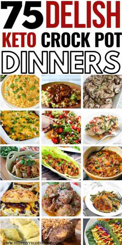 75 Best Delicious Mouthwatering Crock Pot Keto Dinners