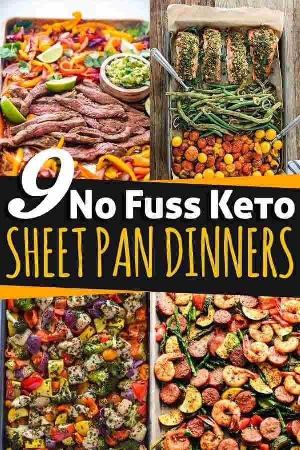 9 No Fuss Keto Sheet Pan Dinners