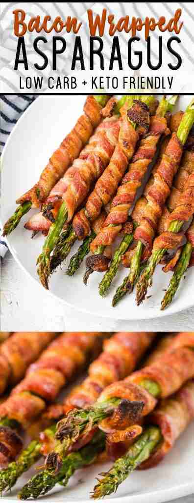 Bacon Wrapped Asparagus – Easy Peasy Meals