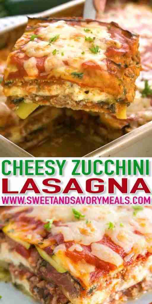 Best Zucchini Lasagna [Video] – Sweet and Savory Meals