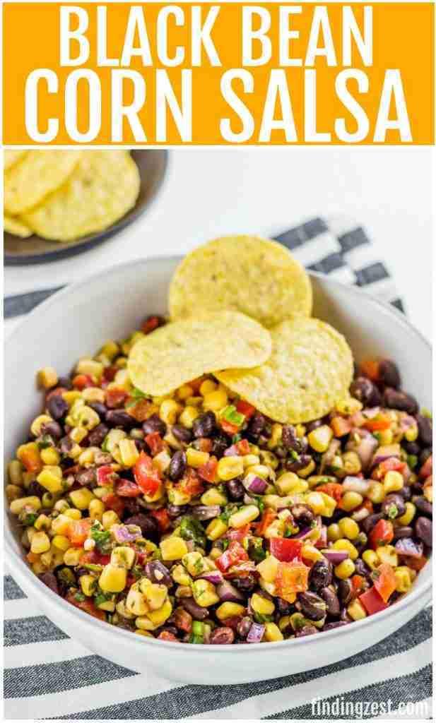 Black Bean Corn Salsa – Finding Zest