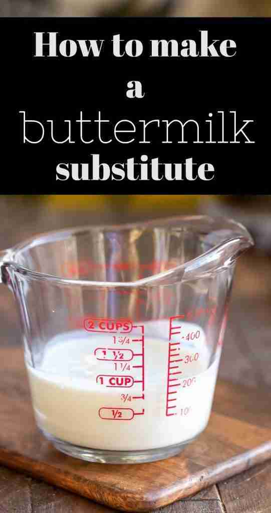 Buttermilk Substitute For When You Don't Have Buttermilk – I Heart Eating