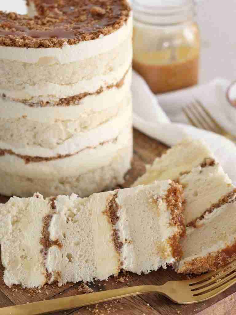 Cake by Courtney: Banana Cream Cake with Salted Caramel
