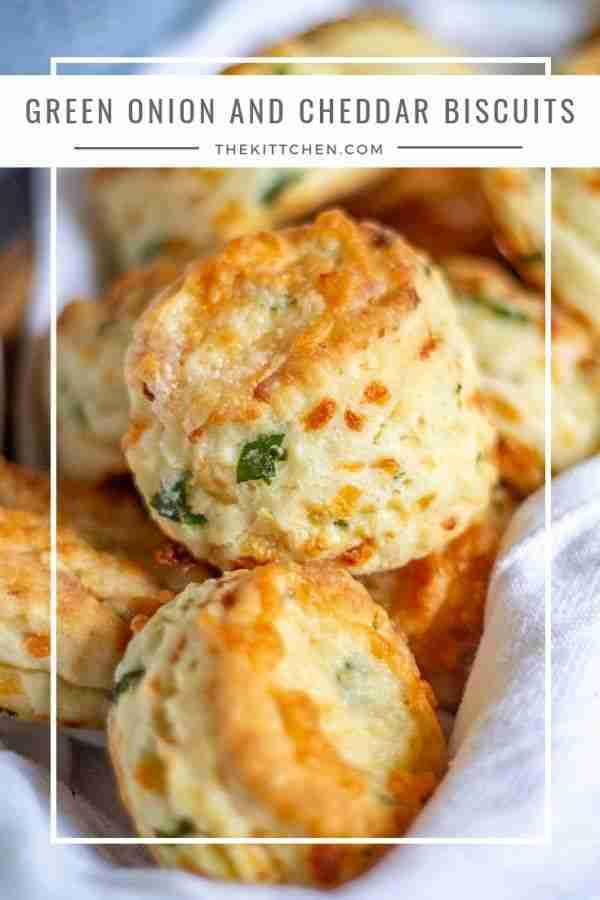 Cheddar and Green Onion Biscuits | Easy Cheddar Biscuit Recipe
