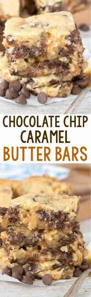 Chocolate Chip Caramel Butter Bars – Crazy for Crust